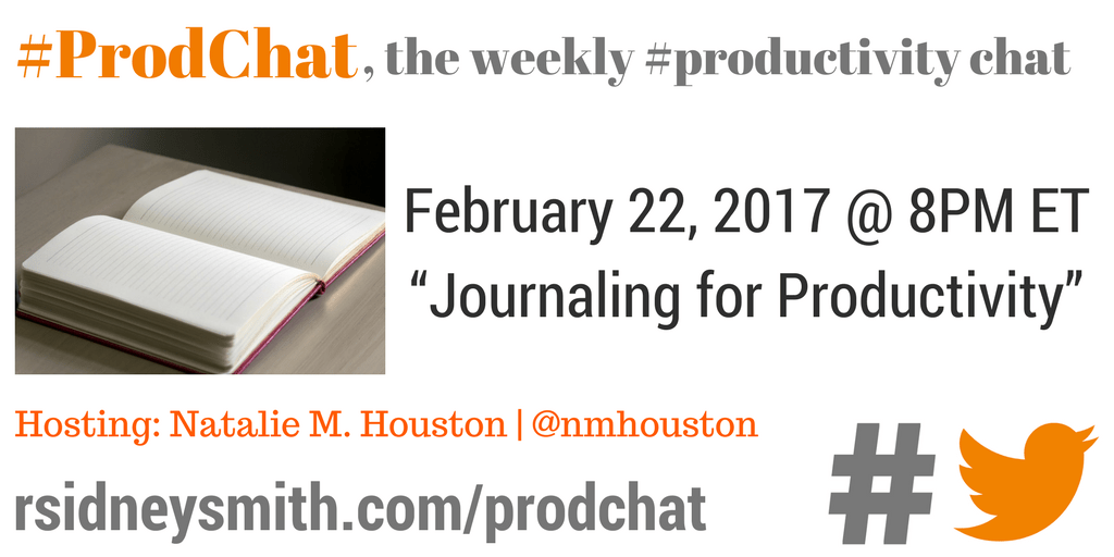 ProdChat - How to Remove Distractions for Greater Productivity - February 15 2017 (1)