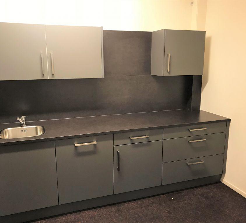 Eenvoudige Kantoor Inbouw Keuken