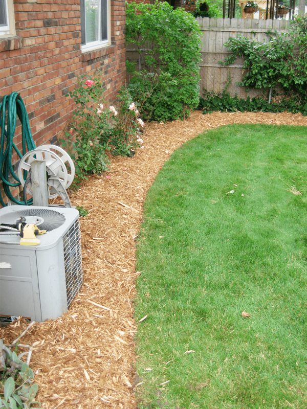 mulch rock and bed edging - rs