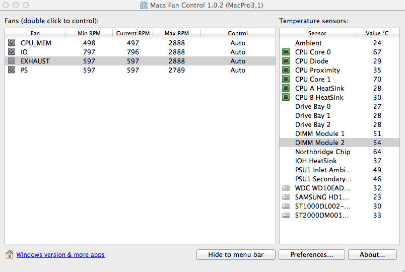 Mac & Boot Camp Fan Control 1.3.1