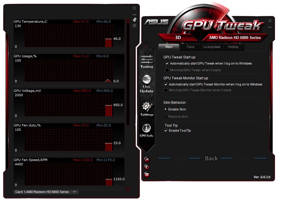 ASUS GPU Tweak