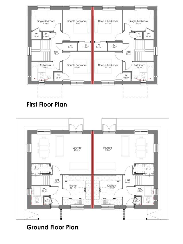 The Aspen 2 bedroom house