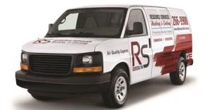 Angled Resource Services Van
