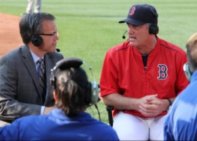 John Farrell with NESN's Tom Caron