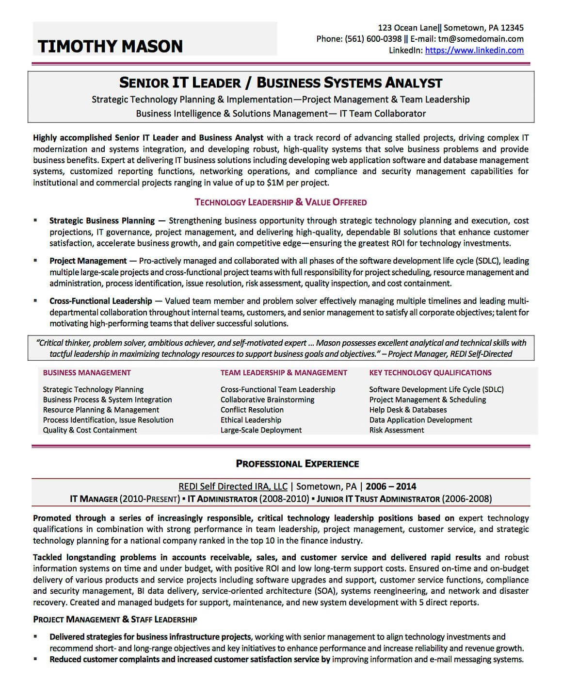 Account Analyst Resume Resume Examples Cv Sample Resume Templates Rso Resumes