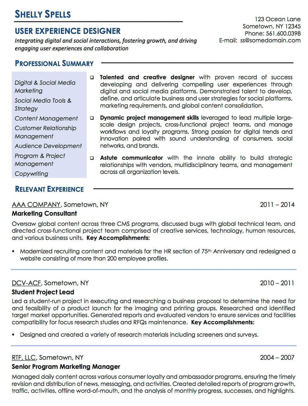 Medical Sales Representative Supply Chain Manager - Resume Examples