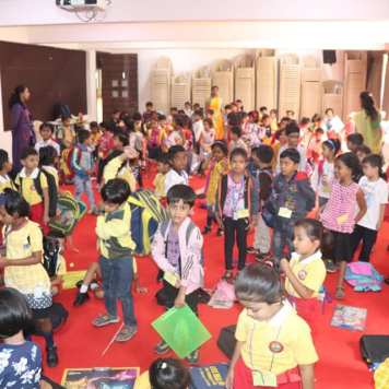 Inauguration of district level inter-school painting competition and annual art exhibition (21)