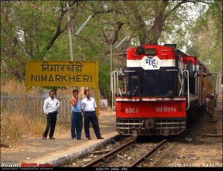 Meter Gauge Train