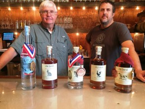 John Emerald Distilling Co. in Opelika crafts small-batch spirits. (Brittany Dunn / Alabama NewsCenter)