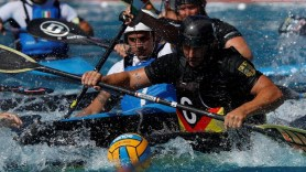Canoe polo is among the sports played in The World Games, scheduled for July 2022 in Birmingham. (The World Games)