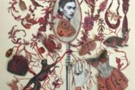 Famous Mexican artist Frida Kahlo is memorialized in an exhibit at the Huntsville Museum of Art. (contributed)