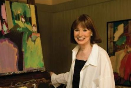 Gloria Vanderbilt is well-known for her contributions to the fashion industry, but many people aren't as familiar with her artwork. (contributed)