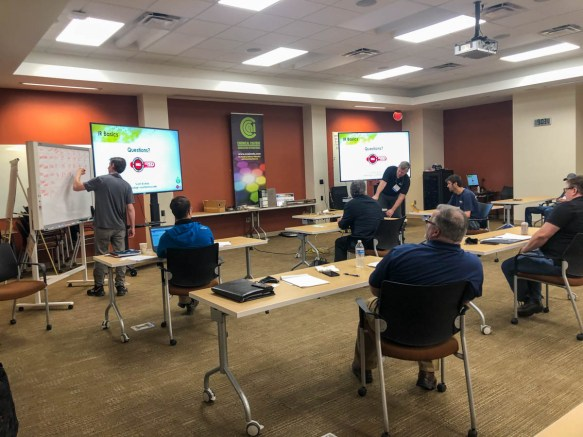 Scott Bishop and his team work with a variety of industrial customers at the Technology Applications Center, sharing their knowledge about energy efficiency and sustainability. (contributed)