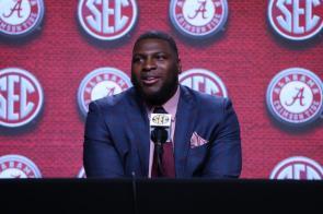 Alabama defensive lineman Phidarian Mathis (Jimmie Mitchell / SEC)