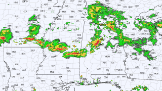 James Spann: Occasional showers, thunderstorms for Alabama through Tuesday