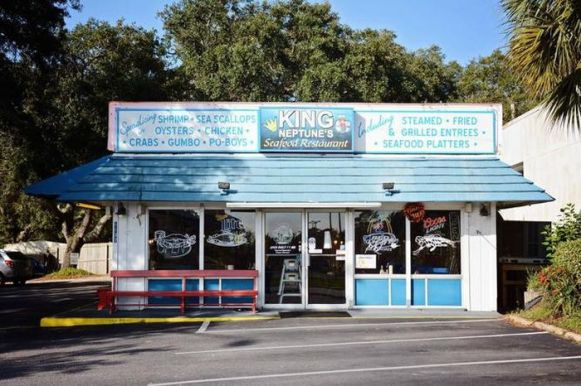 King Neptune's is a budget-friendly dining destination in Gulf Shores. (Brian Kelly)