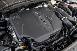 Some Santa Cruz models come with a turbo engine. (Hyundai)
