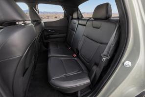 The rear seats of the Santa Cruz have 60:40 flip-up storage under the cushions. (Hyundai)