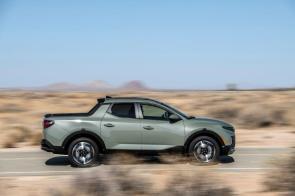 The Santa Cruz is being dubbed a Sport Adventure Vehicle by Hyundai. (Hyundai)