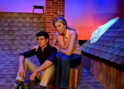 """A scene from """"Paper Thin"""" at Terrific New Theatre. (contributed)"""