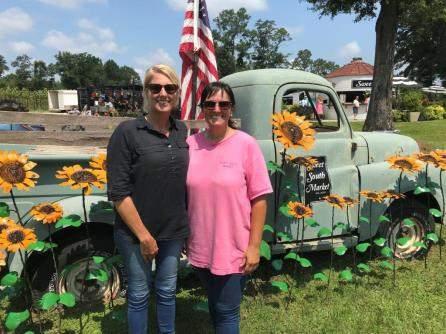 Rosemary Guilford and Jennifer Bradley are co-owners of Sweet South Market. (Michael Tomberlin / Alabama NewsCenter)
