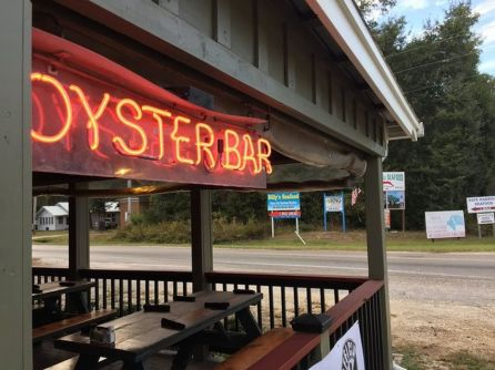 Tin Top Restaurant and Oyster Bar isn't on the beach, but it's still got plenty of atmosphere and great food. (Jared Boyd)