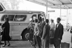 Montgomery's Greyhound Bus Station on May 20, 1961. (Getty Images/Alabama Historical Commission)