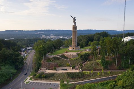 Vulcan Park is the suggested starting point for the new Historic Red Ore Express walking or biking tour. (Bob Farley)