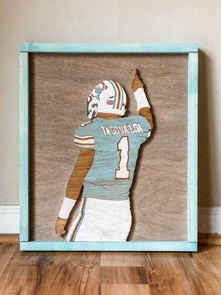 Former Alabama quarterback Tua Tagovailoa, now a Miami Dolphin. (contributed)
