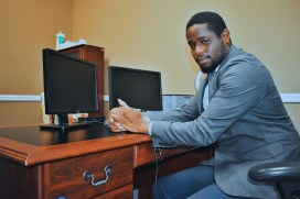 Justin Arrington is one of six John Lewis Legal Services fellows working across Alabama. (contributed)