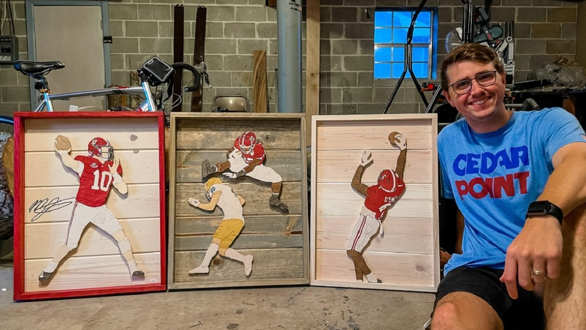 Alabama woodcutter's art caught NFL star Derrick Henry's eye on Twitter