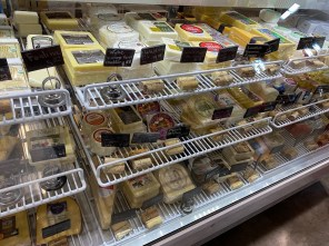The cheese case at Provisions brings together cheeses from all over the world. (Michelle Matthews/This is Alabama)