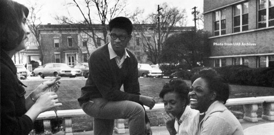 Students at UAB's Tidwell Hall in 1969. The Historic Red Ore Express walking tour isn't just about historic sites. It's about the people who worked or spent time there. Oral history is blended into the narration. (contributed)