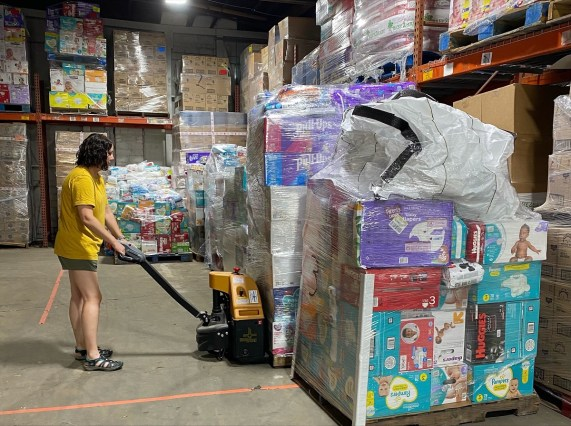 Bundles of Hope has distributed more than 3 million diapers to families across Alabama since 2015 and is on track to distribute more than 1 million in 2021. (contributed)