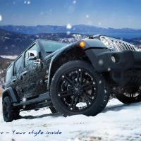 Mobil Jeep Wrangler Sahara 2014