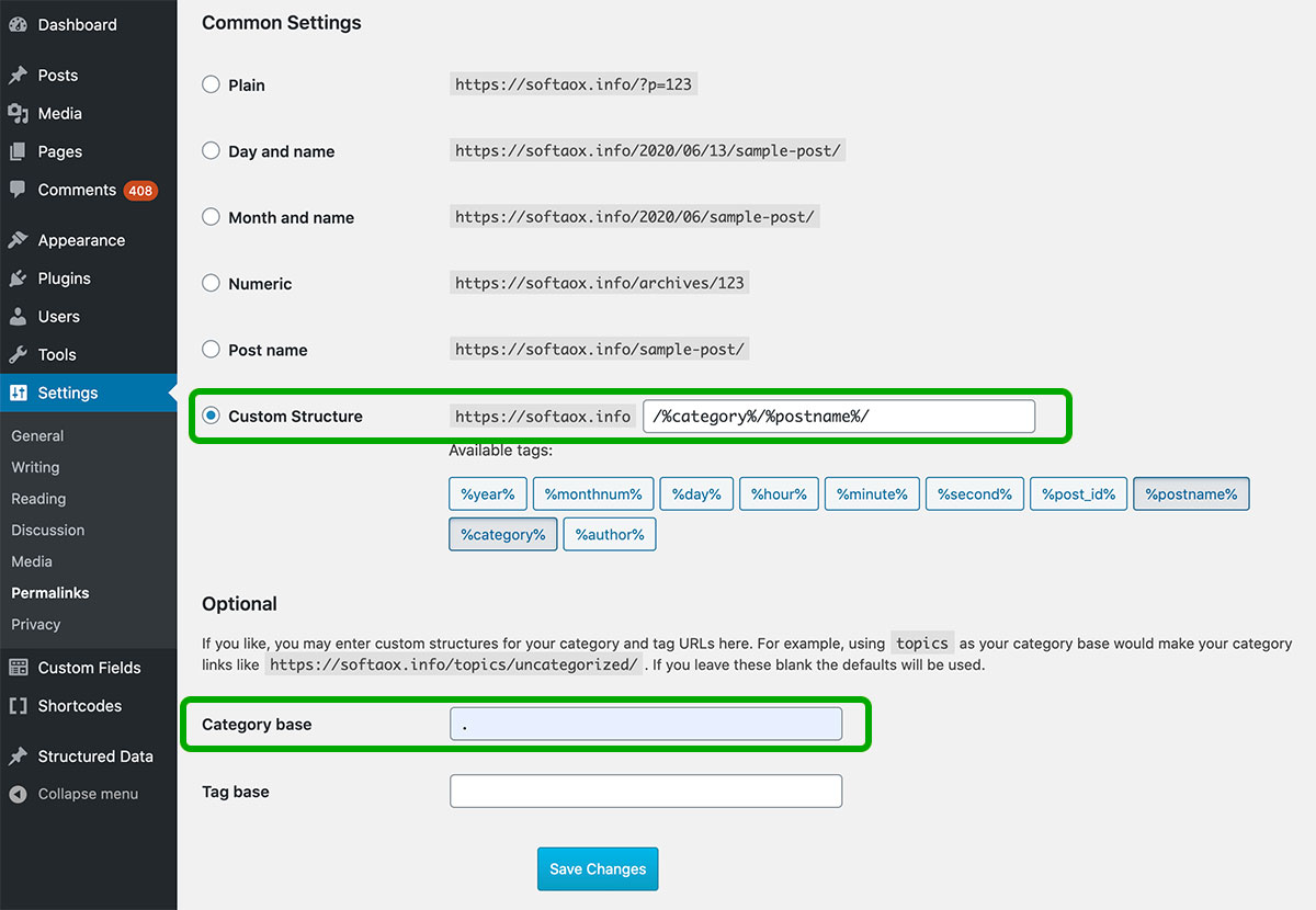 Best Ways to Remove the Category From WordPress URL