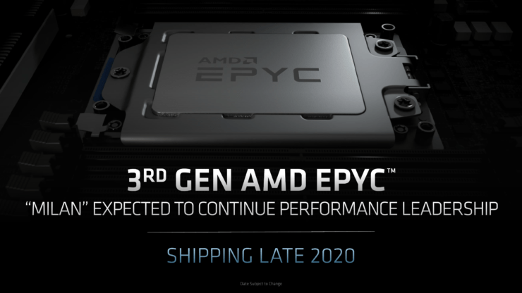 AMD's Next-Gen Zen 3 Powered EPYC Milan 'Genesis' CPUs Spotted – 7nm+ Chips With Up To 64 Cores & 3.0 GHz on A0 Samples