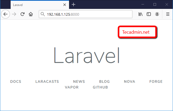 How to Install Laravel on CentOS 8