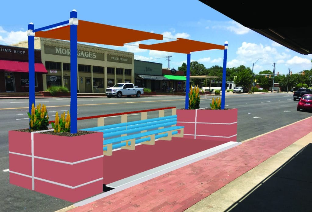 Downtown Mansfield Parklet Pilot Program Is A Go