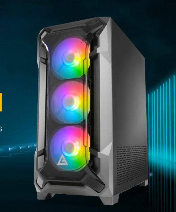Antec Releases The DF600 Flux PC case