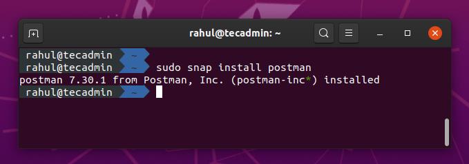 How to Install Postman on Ubuntu 20.04