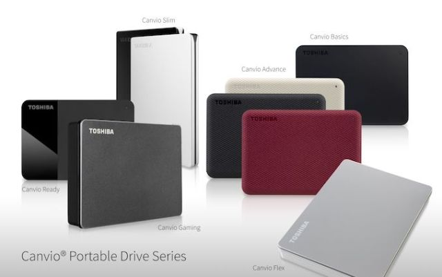 Toshiba Updates Canvio Portable Storage Lineup with Flex and Gaming HDDs