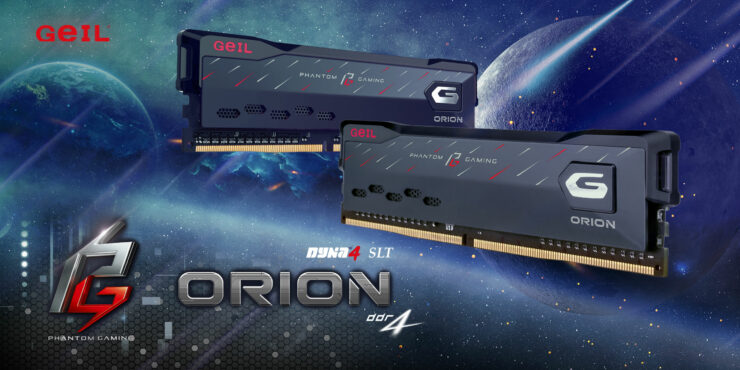 GeIL Partners With ASRock To Launch ORION Phantom Gaming Edition DDR4 Desktop Memory – High Capacity DIMMs With Moderate Speeds