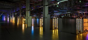 Google's Data Center Server Racks