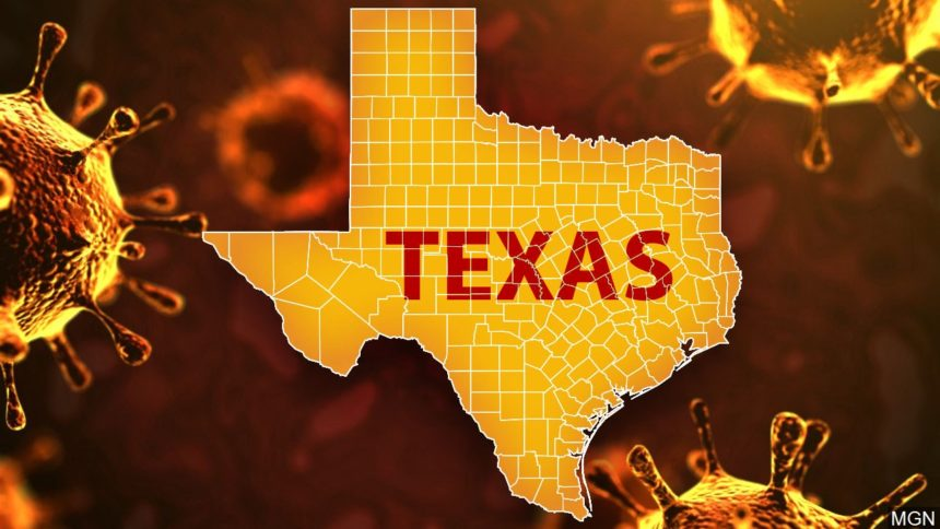 Texas reports 3,346 new virus cases but 7,006 total increase due to delayed positives