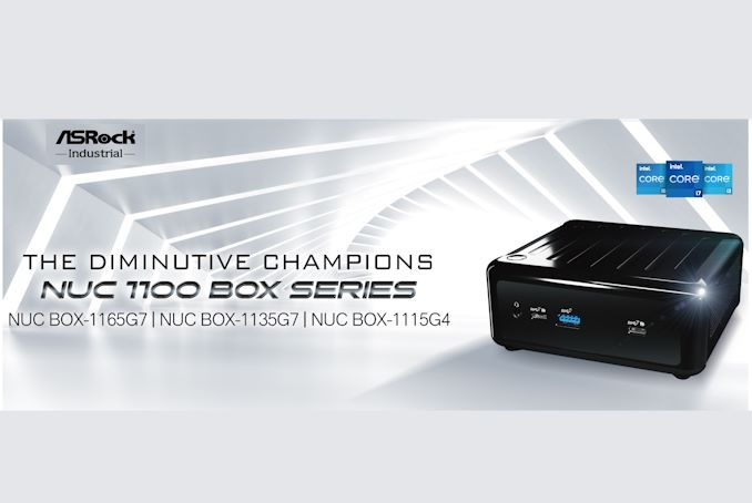 ASRock Industrial's NUC 1100 BOX Series Brings Tiger Lake to UCFF Systems