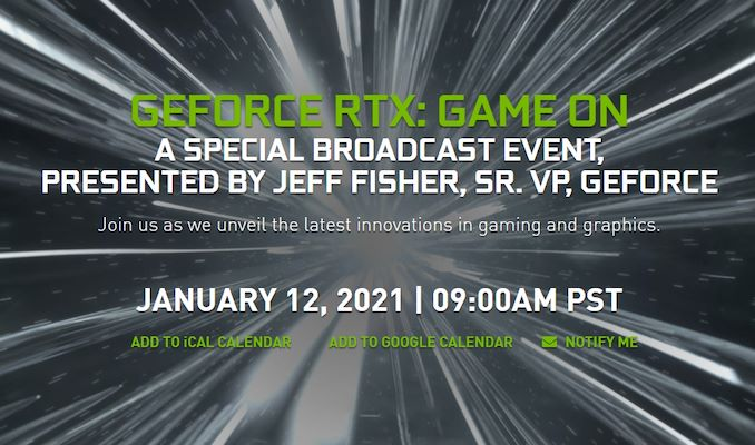 NVIDIA Schedules GeForce CES Presentation for January 12th