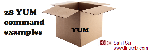 28 yum command examples for package management in Linux part 1