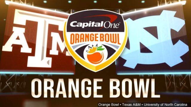 texas a&m orange bowl north carolina