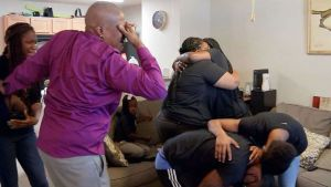 See the moment George Floyd's family in Houston heard the verdict: 'We won'